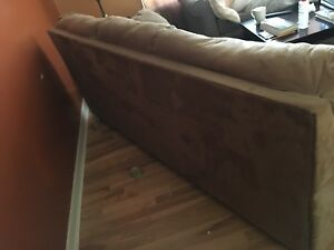 Couches for sale. Beige 2 couch set