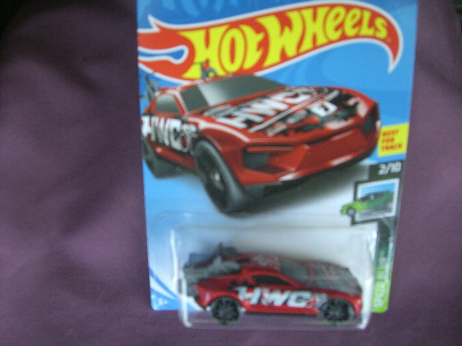 Hot Wheels Rise and Climb New Sealed Speed Blur Spinning Gra