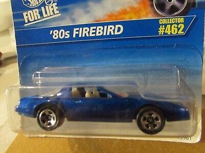 Hot Wheels '80s Firebird #462 Blue 5 sp