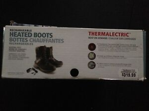 Heated boots never worn still new in box kelowna.