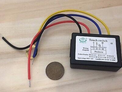 Xd-613b Led Touch Dimmer Schalter 12v Control Relay Module Detect Sensor B22