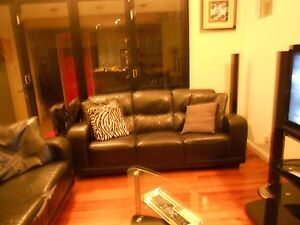 COUCH THREE SEATERS X2 Glanville Port Adelaide Area Preview