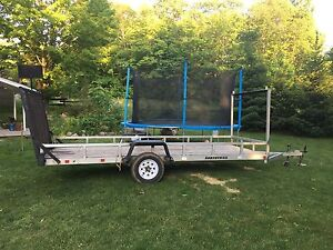 14 foot Northtrail landscaping trailer