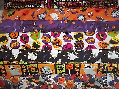 (HALLOWEEN Trick or Treat BTY Cotton quilt FABRIC U-Pick See LISTING for INFO)