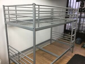 Steel bed  2 story