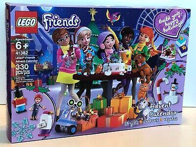 LEGO Friends Advent Calendar 41382 Building Kit (330 Pieces), New