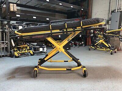 Stryker Performance Pro 700 Lbs Manual Ambulance Stretcher Cot Ferno Ems Mint