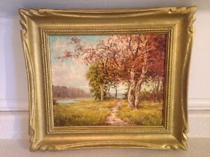 3 Oil Paintings By Canadian Listed Artist George Fletcher