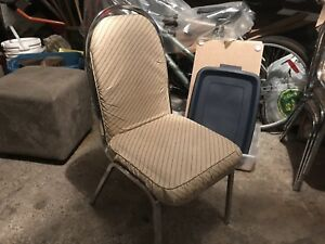 STACKING CHAIRS (2)
