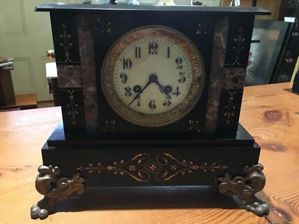 Vintage Marble Mantle Clock