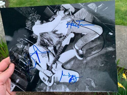 MUDHONEY Signed Autographed 8x10 Photo RARE Mark Arm Dan Peters Steve Turner
