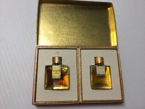 Antique Unused Emeraude de Coty & Paris de Coty Perfume in Original Box Look!