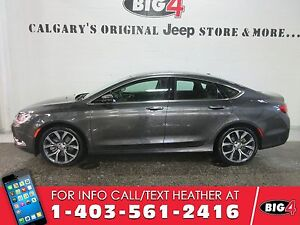 2016 Chrysler 200 C, DEMO, Sunroof, Heated Seats, Low KMS