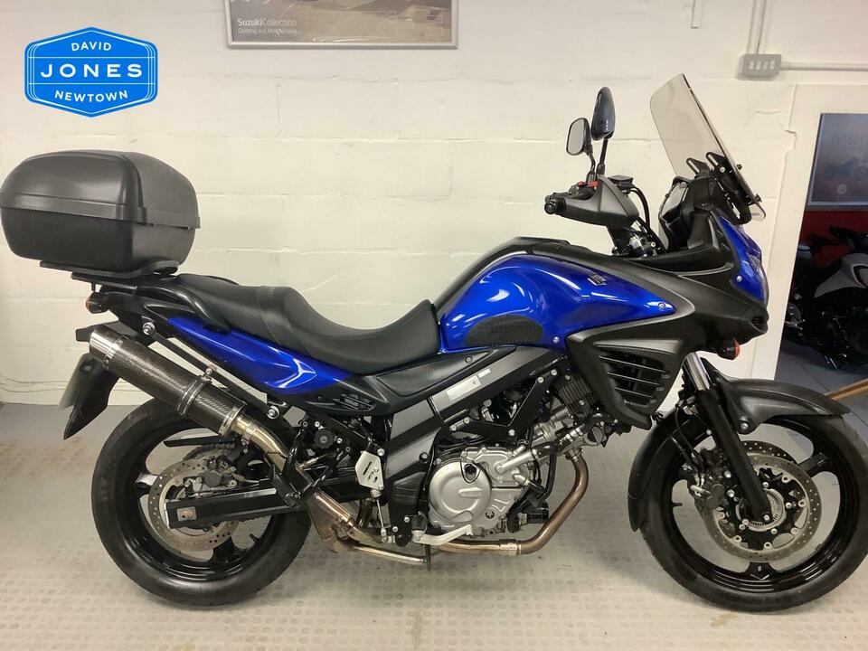 Suzuki DL650A DL 650 V-Strom 2013 / 13 - Only 12095 miles - High Level Exhaust
