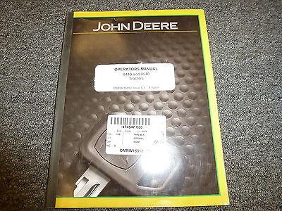 John Deere 8440 8640 4wd Tractor Owner Operator Manual User Guide Omrw15912