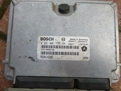 Bosch ECU engine management 25TD jeep cherokee XJ Orvis