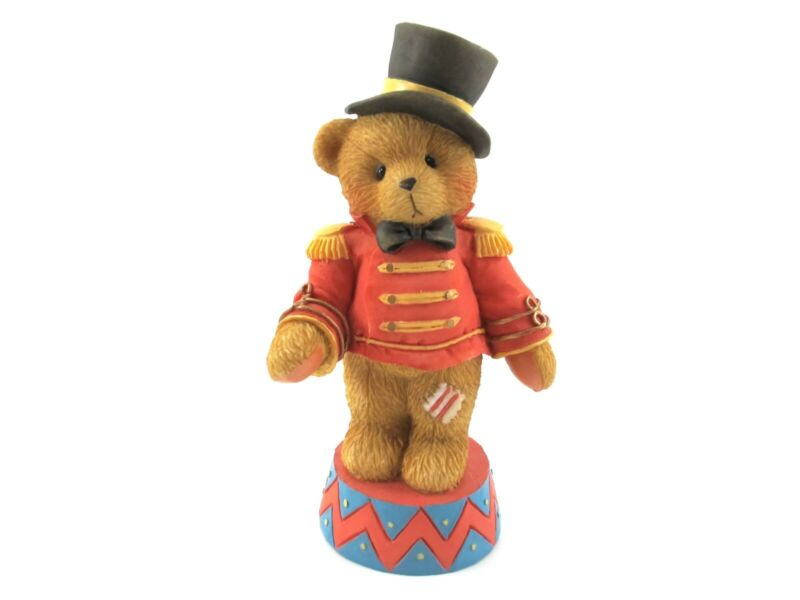 """Cherished Teddies BRUNO 1995 """"Step Right Up And Smile"""" 103703 CIRCUS"""