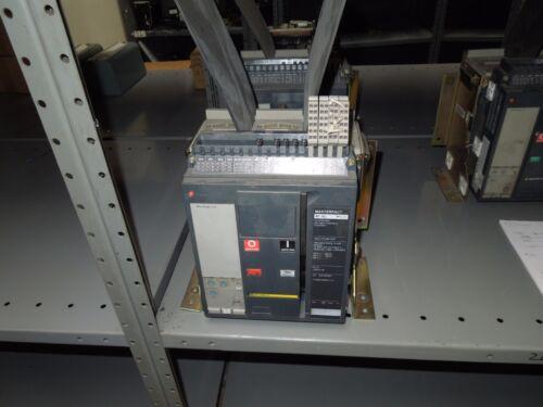 Sq D 12-804131-00 Masterpact Breaker Nt16l 1600a Eo/fm Shunt 3.0 W/ Li Used E-ok