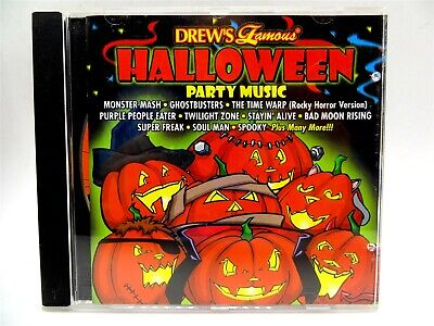 Drew's Famous HALLOWEEN Party Music ♫ CD - Drew's Halloween