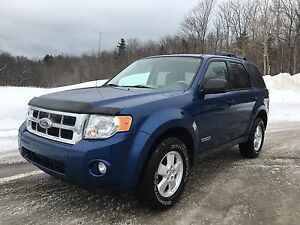 Ford Escape XLT 4x4 2008 60000 km