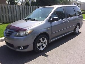 2004 Mazda MPV...7-pass, Cuir. Equippee