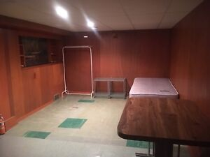 Temporary Basement Suite Available January 1st!