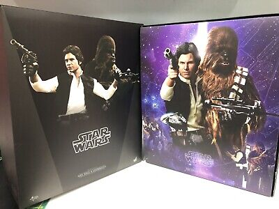 Sideshow Hot Toys Star Wars Han Solo & Chewbacca MMS263 1/6 Exclusive Edition