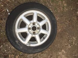 185/60 R14 tires on VW rims set of 4