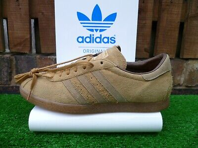 VINTAGE ADIDAS TOBACCO X MITA JAPAN  80s casuals UK11 2012 VERY RARE LOOK