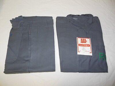 Vintage Jacke Hose ROW Berufsbekleidung Arbeitsbekleidung 60/70er  neuwertig