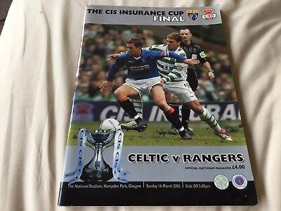 Celtic V Rangers Cis Cup Final 2003
