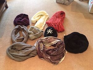 Scarves and hats