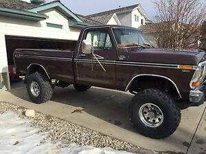 1978 Ford F250 XLT Camper Special