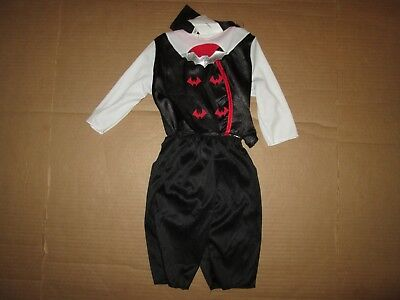 Boys baby infant COUNT DRACULA VAMPIRE Halloween Costume sz 6 - 12 months NWT