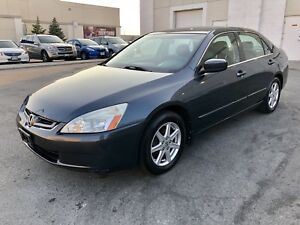 Honda Accord EX-L*ONLY 113,000 ORIGINAL KM*FULLY CERTIFIED*