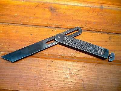 Vintage Stanley  Sliding T bevel Square  USA Woodworking Tool Find Angles