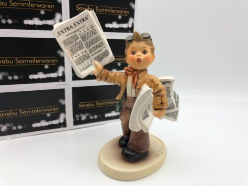 Hummel Figurine 2113 Newsboy 5 3/16in 1 Choice. Top Zustand