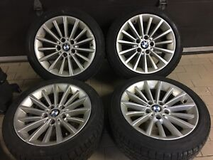 Original 17 inch bmw wheels 5x120 winter