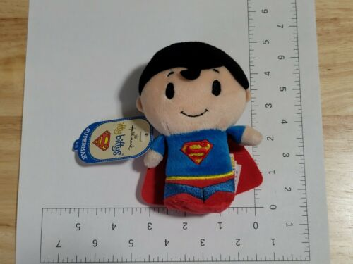2014 Hallmark Itty Bittys DC Comics Superman Plush NWT New with Tags