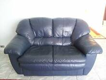 2 seater Genuine Leather Sofa Green Valley Liverpool Area Preview