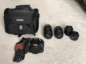 DSLR kit Canon t5i touch screen