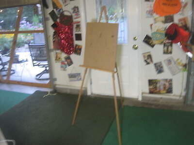 """Used, Art Artist Painting Draw Wood Tripod Sketching Easel Stand Display Tool 67"""" Flat for sale  Shipping to Canada"""