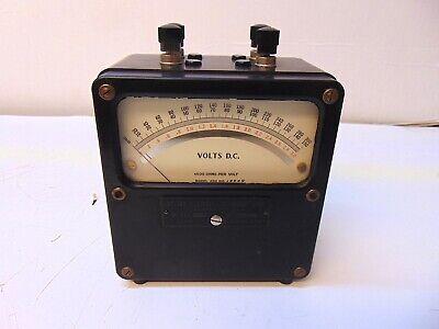 Weston Electrical Volts D.c. Meter Model 430 No. 19909 S5554