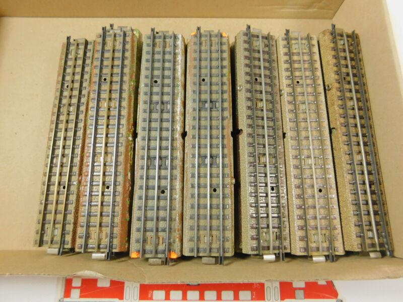 AR514-2 #33x Märklin H0/00 / AC Section de Voie Droit Voie M 3600/800/