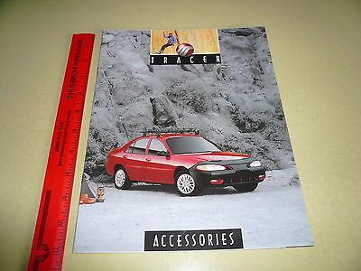 Mercury Tracer Accessories Sales Brochure