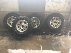 ford ranger rims and goodyear tires *4  Cambridge Kitchener Area image 1
