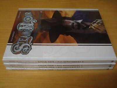 Steam Noir Das Kupferherz Nr.1-4 komplett (Cross Cult) deutsch
