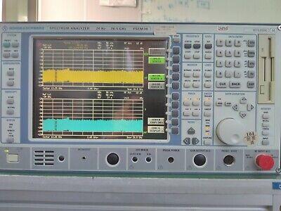 Rohde Schwarz Fsem30 Spectrum Analyzer 20hz-26.5ghz