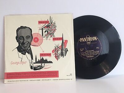 Georg Feyer - Echo aus Paris  | 10'' EP | Pantheon 1950's | LP: EX
