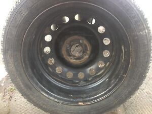 "4/16""4/100 winter rims off ion $225 Peterborough Peterborough Area image 2"